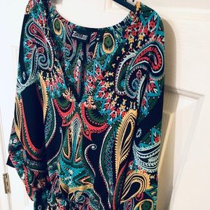 Really nice colorful shirt! Love it!
